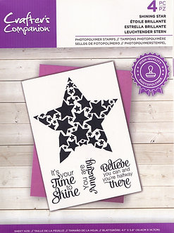 Crafters Companion - Shining Star Stamp Set