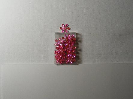 PaperCellar - Pink Candy Flower Petal Gems