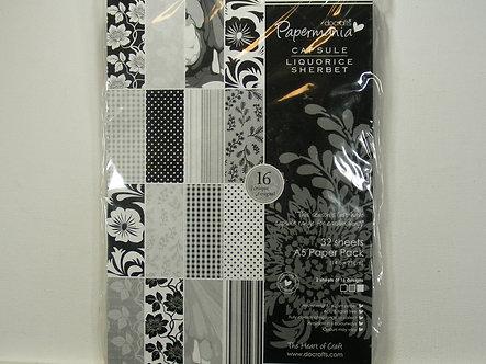 Docrafts - Capsule Liquorice Sherbert A5 Paper Pack
