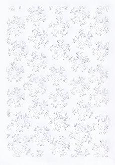 A4 Die-Cut Snowflakes Topper Sheet