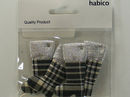 Habico - Christmas Boots Embellishments (Burberry)