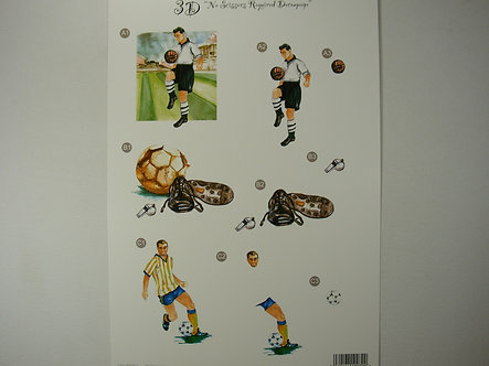 Craft UK - 3D Decoupage Football