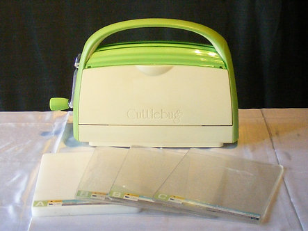Cricut - Cuttlebug Die Cutting Machine.