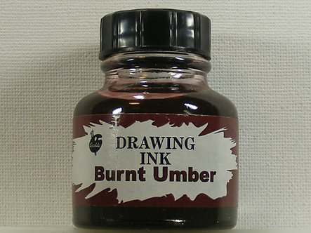 Ocaldo - Drawing Ink - Burnt Umber (28ml)