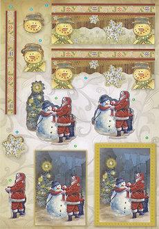 Create & Craft - A4 Christmas 3D Decoupage