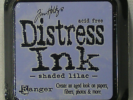 Ranger - Tim Holtz Distress Ink Pad - Shaded Lilac.