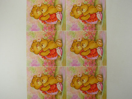 Craft Creations - Mother's Day Bear Topper Sheet
