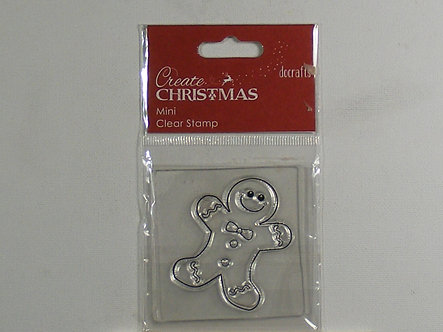 Docrafts - Create Christmas Mini Clear Stamp
