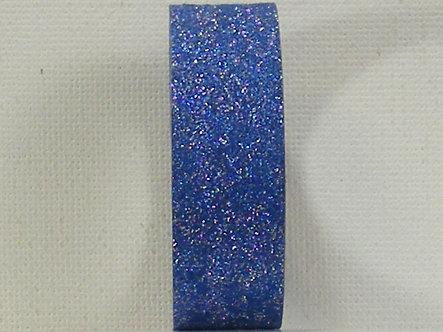 Craft Washi Tape - Blue Glitter