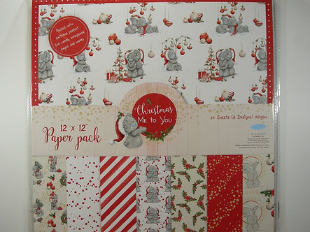 "Avec - Christmas Me To You 12"" x 12"" Paper Pack"