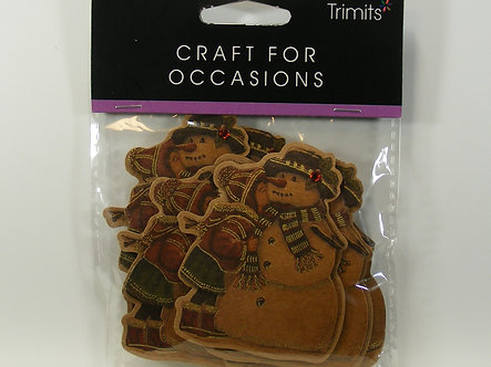 Trimits - Crafts For Occasions - Vintage Snowman Toppers