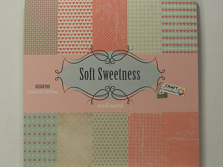 "Craft Sensations - Soft Sweetness 6"" x 6"" Paper Pad."