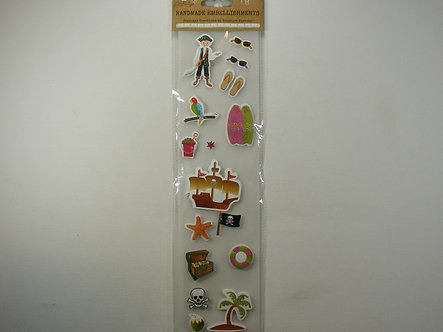 Craft Boutique - Handmade Embellishments - Pirate