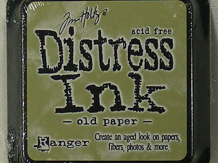 Ranger - Tim Holtz Distress Ink Pad - Old Paper.