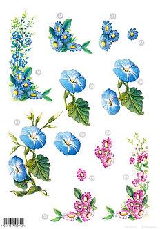 Craft UK - 3D Floral Decoupage Sheet