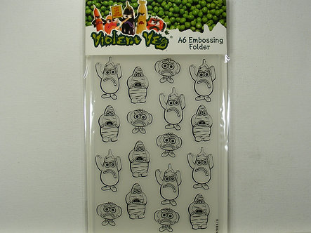 Avec - Violent Veg A6 Embossing Folder