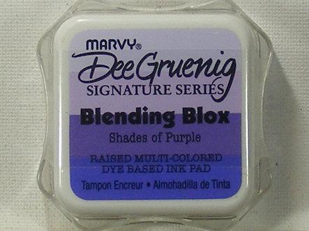 Marvy - Dee Gruenig Blending Blox - Shades Of Purple