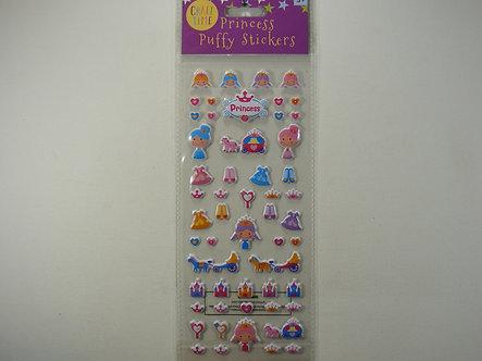 Craft Time - Princess Puffy Stickers