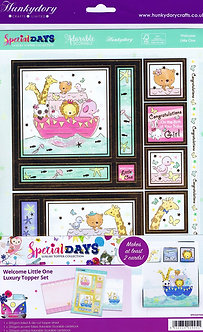 Hunkydory Special Days - Welcome Little One Luxury Topper Set