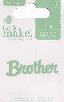 Cut & Make - Mini Sentiment Dies - Brother
