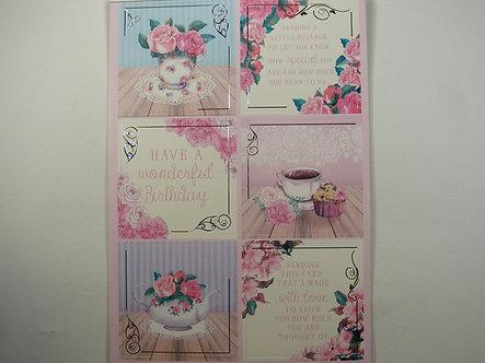 Kanban - Floral Tea Party Topper