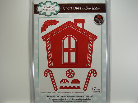Creative Expressions - Gingerbread House Die Set