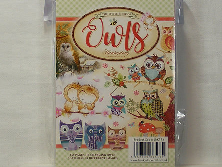 Hunkydory - Little Book Of Owls.