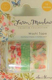 Craft Consortium - Farm Meadow Washi Tape