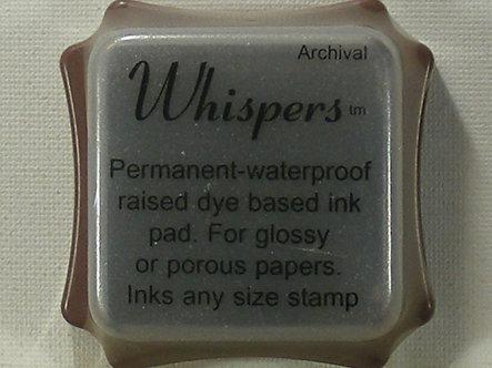 Archival - Whispers Chestnut Dye Based Ink Pad