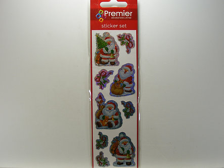 Premier Decorations - Holographic Santa & Tree Stickers