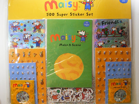 Maisy Super Sticker Set.