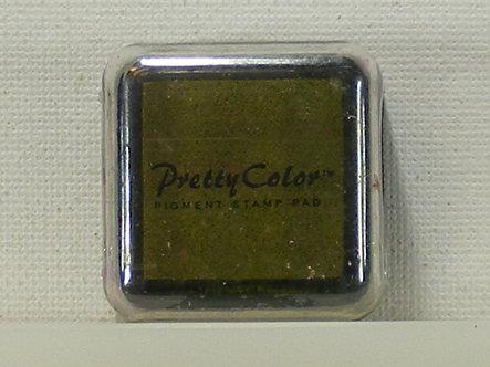Pretty Color - Pigment Mini Ink Pad - Olive Green