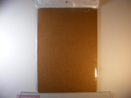 Kraft - Brown Quality Card ( 250gsm).