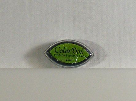 Color Box - Pigment Brush Pad - Lime.