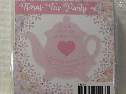 Kanban - Floral Tea Party Mini Foiled (Pink)