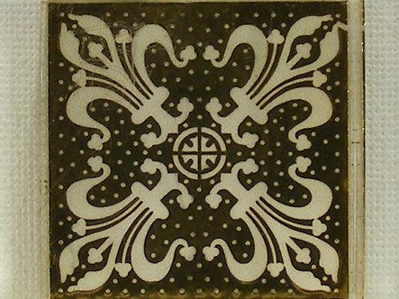 Unbranded - Filigree Fleur De Lis Design Rubber Stamp