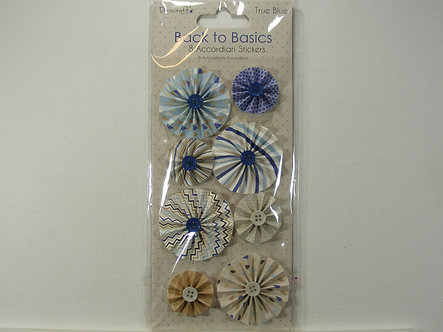 Dovecrafts - Back To Basics Accordion Stickers