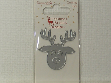 Dovecrafts - Christmas Basics - Rudolph Die