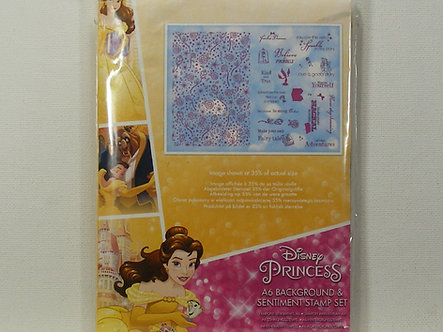 Disney Princess - Bella A6 Acrylic Stamp Set