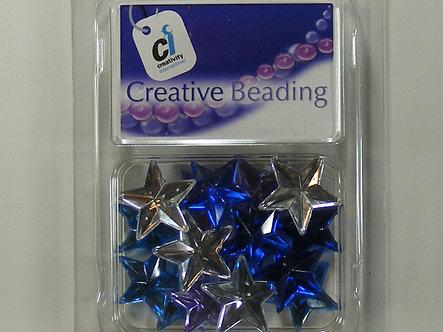Creativity International - Pastel Acrylic Star Jewels