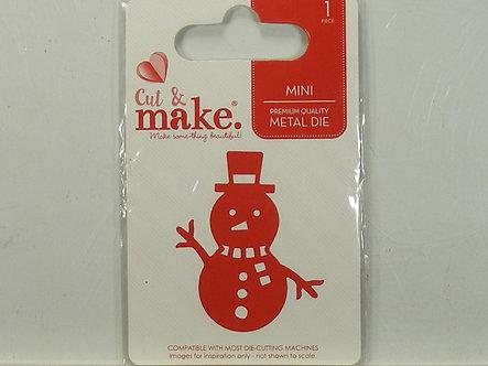 Cut & Make - Snowman Die.
