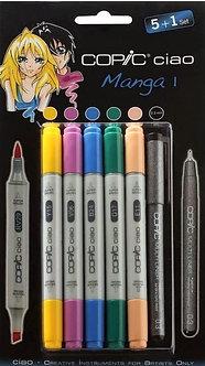 Copic Ciao - Manga Set 1 Markers