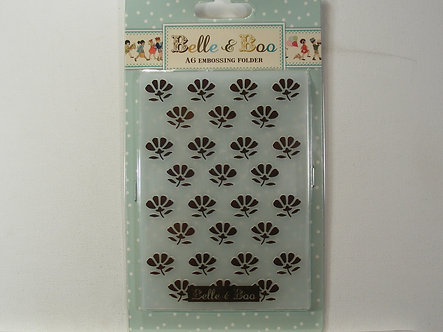 Belle & Boo A6 Embossing Folder