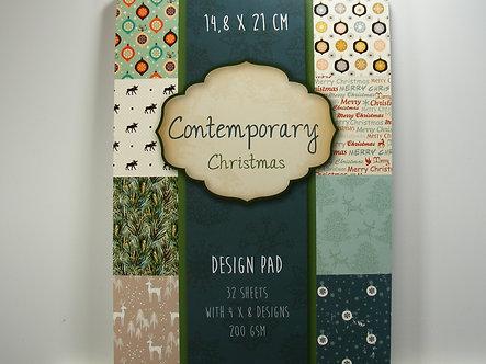 Contemporary Christmas Design Pad.
