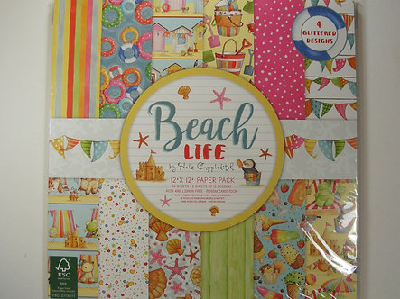 "Helz Cuppleditch - Beach Life 12"" x 12"" Pack"