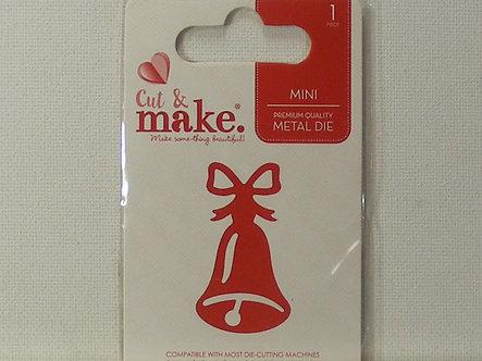 Cut & Make - Christmas Bell Die.