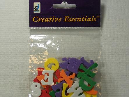 Creative Essentials - Foam Coloured Alphabet