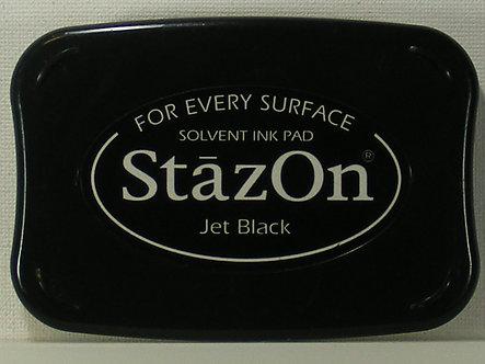 Archival - Stazon - Jet Black Ink Pad