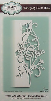 Creative Expressions - Paper Cuts Collection - Bumble Bee Edger