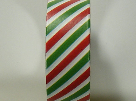 Christmas Craft - Candy Stripe Washi Tape